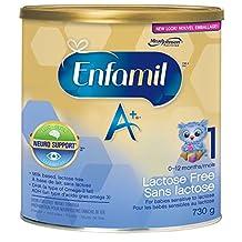 Enfamil A+  Baby Formula, Lactose Free Powder, 730g