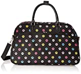 World Traveler 21-Inch Carry-On Shoulder Tote Duffel Bag, Multi Paws, One Size