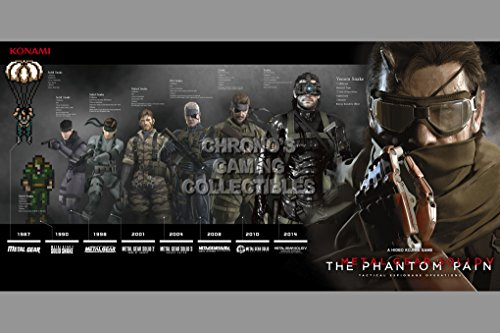 Metal Gear Fan - Metal Gear Solid CGC Huge Poster Glossy Finish 5 - Solid Snakes - MGSO13 (16