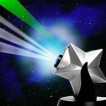 Newaje Laser Stars Projector Light Show Night Sky Blue Led Nebula Cloud Newage