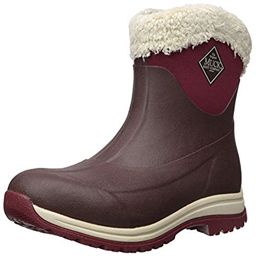Muck Boot Women's Arctic Apres Slip-on, French Roast/Cordovan, 8 US/8 M US