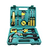 Heroic 16 Pcs in 1 Household and Electrical Repair Full Tool Kit Set for Emergency Uses