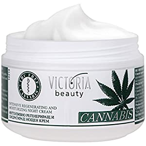 Cannabis Extract Night Face Cream – Natural ...