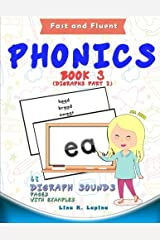 Phonics Flashcards (Digraph Sounds) Part2: 68 flash cards with examples (Fast and Fluent: Flashcards Book 3) (Volume 3) Paperback
