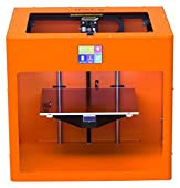 Pure Orange colored CraftBot PLUS 3D printer.