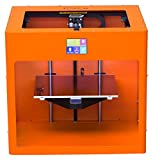 Pure Orange colored CraftBot PLUS 3D printer. craftunique.com Printers