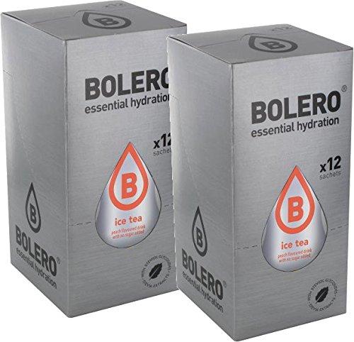Bolero Eistee - Pfirsich (24er Pack)