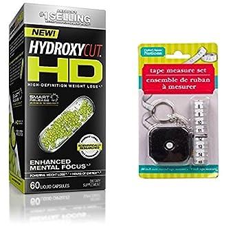 Hydroxycut HD, alta definición pérdida de peso, 60 cápsulas peso perdido suplemento líquido con