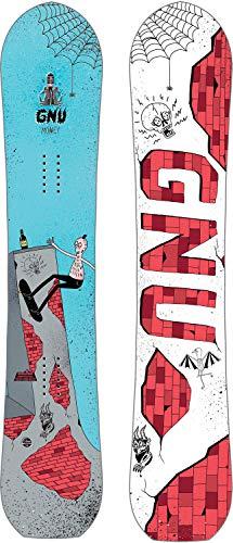 Gnu Money Blem Snowboard Mens Sz 148cm