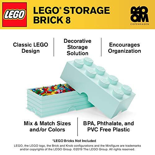 Room Copenhagen 8 LEGO Brick Box, Aqua