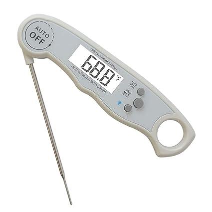 YGUOZ Termómetro Digital con sonda, Impermeable y Duradero, Utilizado para Cocina, Cocina al