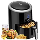 Habor Upgraded Air Fryer, 5.8Qt Airfryer Oven Oilless Deep Fryer Cooker, 1800W Programmable 7 Cooking Presets and Heat Preservation Function, LCD Touch Screen, Dishwasher Safe(Recipes Included) Review