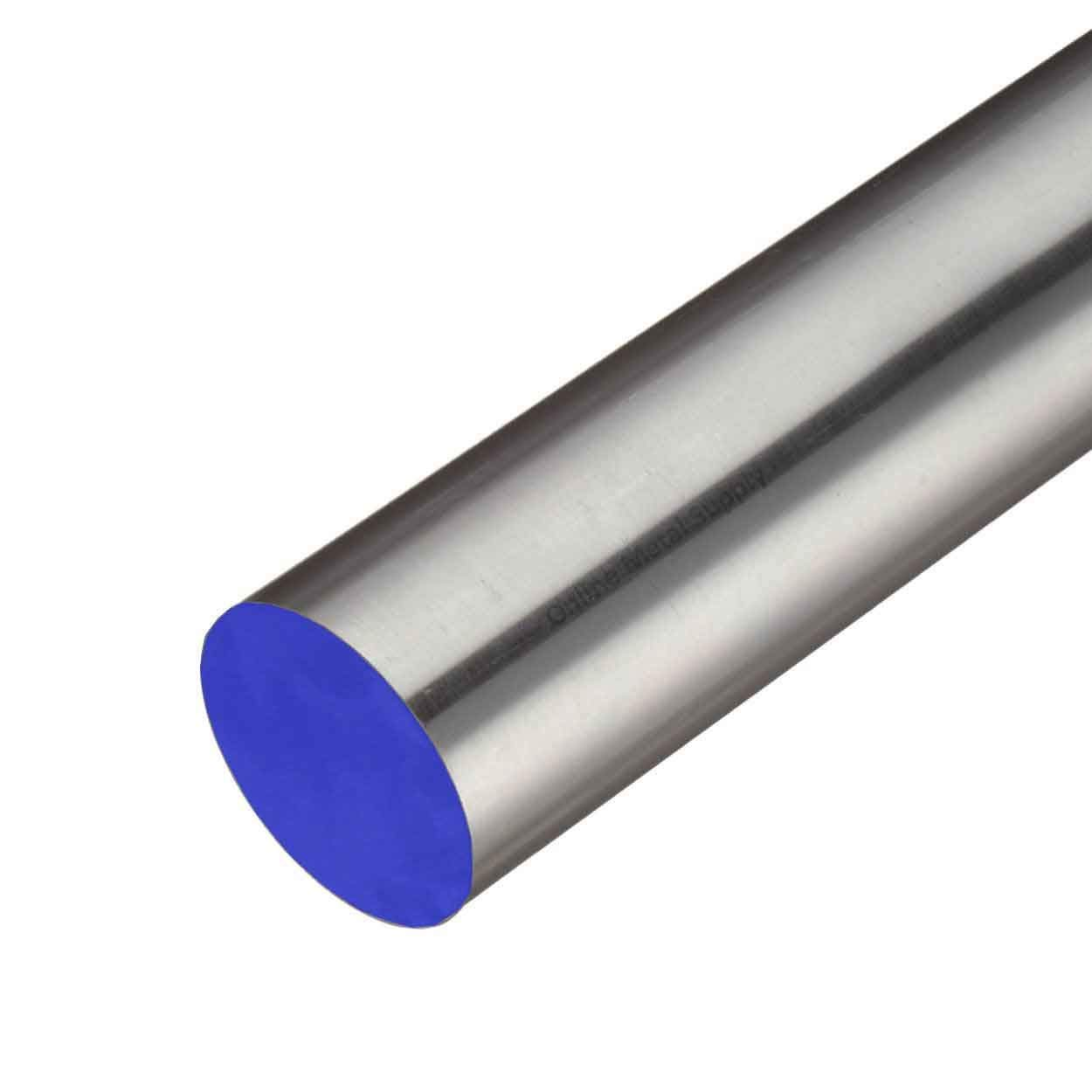 Online Metal Supply 304 Stainless Steel Round Rod, 1.750 (1-3/4 inch) x 10 inches by Online Metal Supply