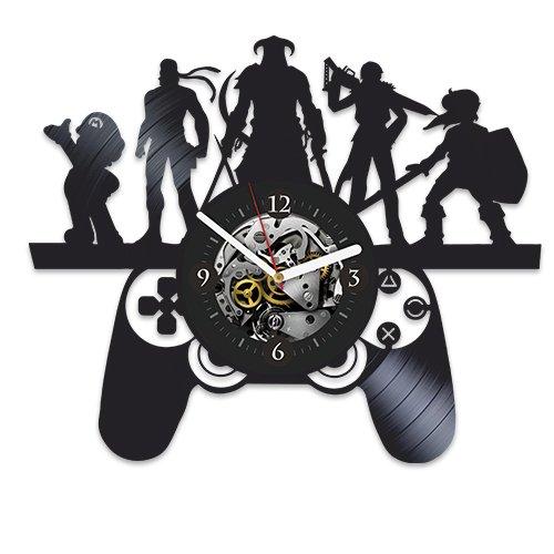 Game Vinyl Wall Clock, Final Fantasy, Gift For Fans, War Cra