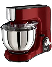 Russell Hobbs 24730-56 Desire Food Processor, 2 hastighetsinställningar, puls/Ice-Crush-funktion, röd/svart