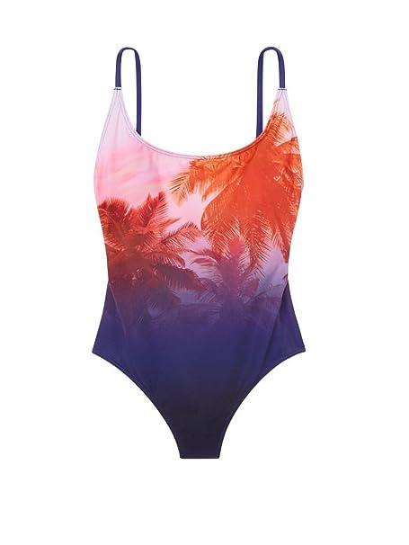Amazon.com: VS. Victoria s Secret rosa bañadores high-leg ...