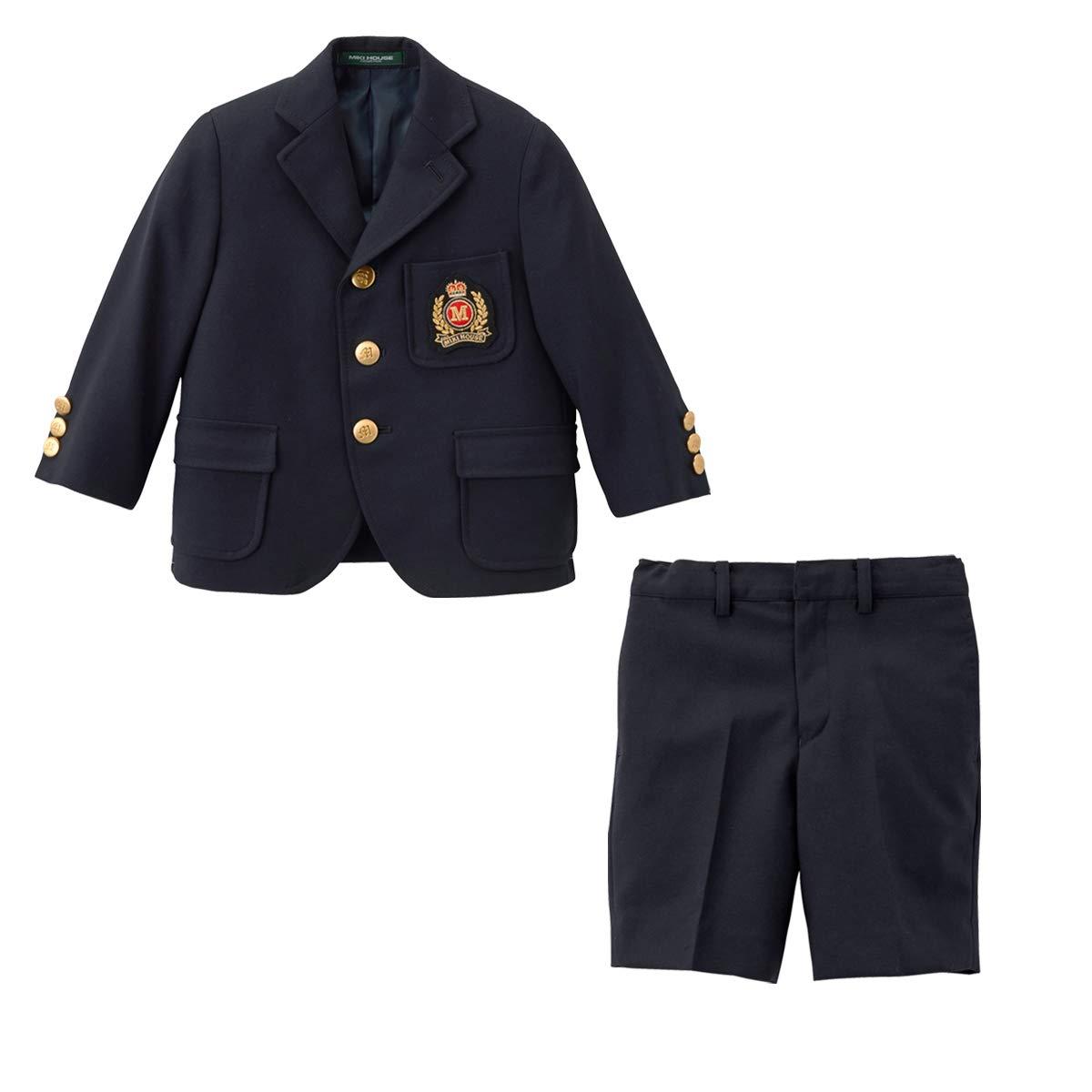 ミキハウス (MIKIHOUSE) スーツ 30-3627-784 120cm 紺 B07G9XLZBD 120|紺 紺 120