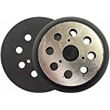 """Superior Pads and Abrasives RSP26 5"""" Dia 8 Hole Sander Hook and Loop Pad Replaces DeWalt OE # 151281-08"""