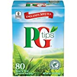 PG Tips Black Tea Pyramids, 80 Count