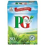 PG Tips Black Tea Pyramids, 80 Count