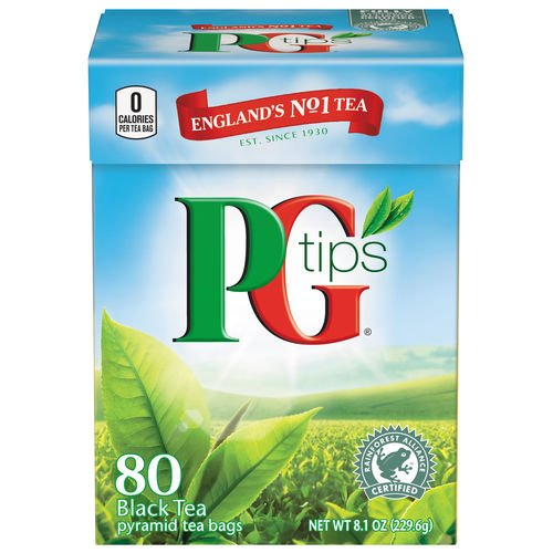 PG Tips Black Tea Pyramids, 80 - Online Shop England