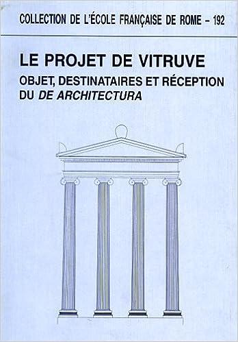 ARCHITECTURA DE TÉLÉCHARGER VITRUVE