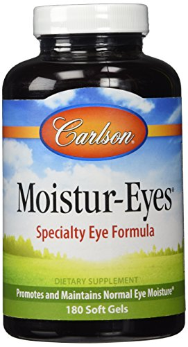 Carlson Moistur-eyes, 180 Softgels