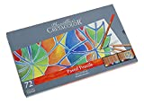 Cretacolor Fine Art Pastel Pencil Set of 72 Pencils in a Tin Case for Artists, Designers, Drafting, and Hobby