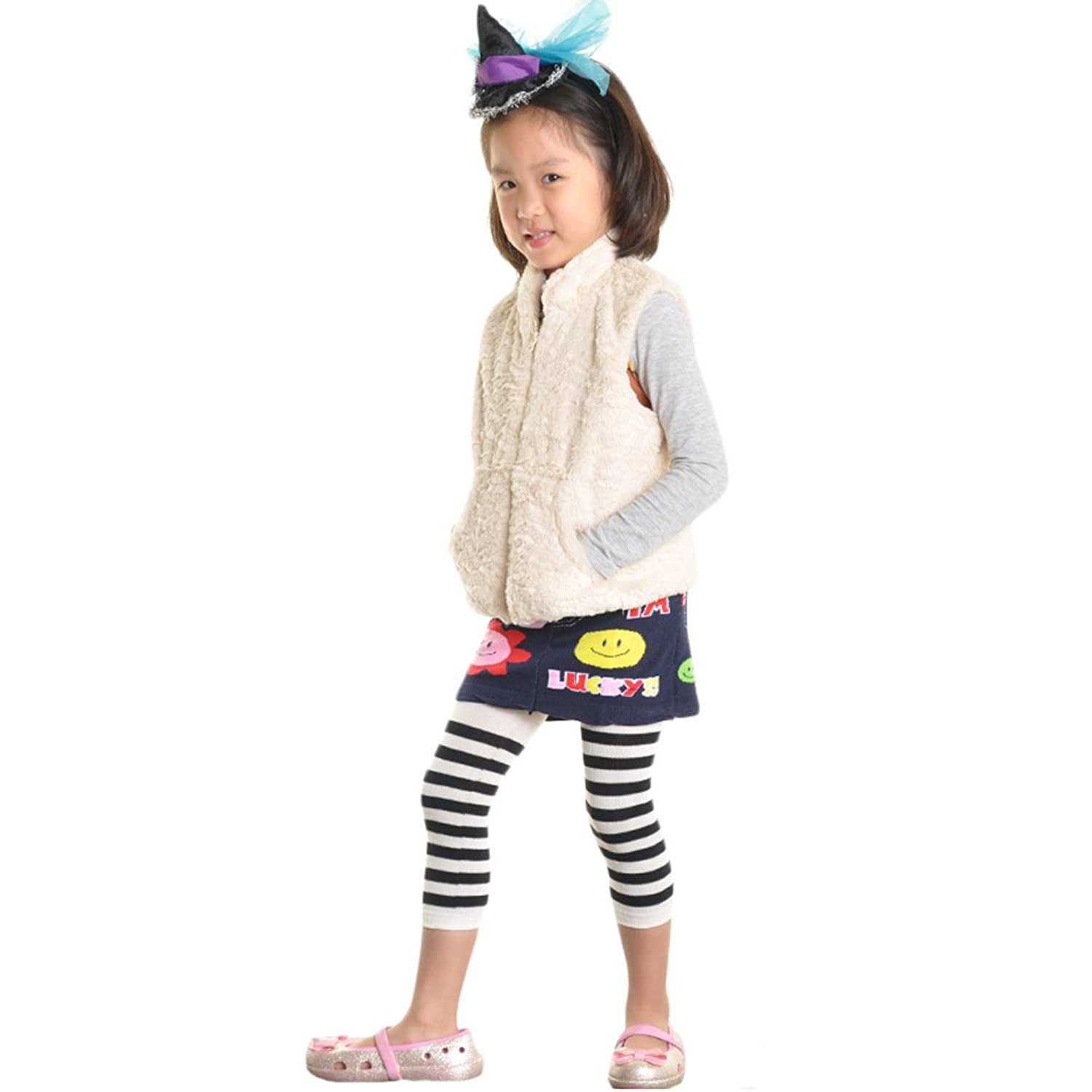 c2c367aad3231 Angelina Girls Sweater Tights with Skirt