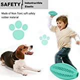 Non-Toxic Dog's Chew Toy Balls [Bite Resistant] Dog Chew and Teeth Cleaning Balls With Teeth Design for Cleaning (1 mint toy)
