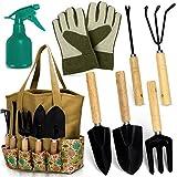 Scuddles Garden Tools Set - 8 Piece Heavy Duty