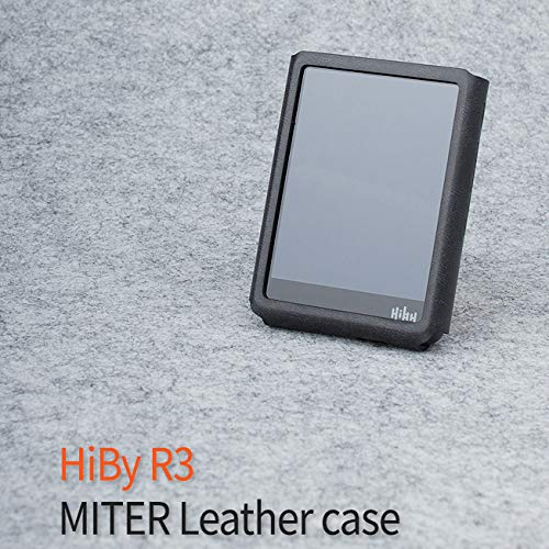 MITER CASE for Hiby R3 / Hiby R3 Pro , PU leather case cover