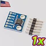 UPGRADE INDUSTRIES [1x] Mini SN65HVD230 CAN IO Converter Board Network Transceiver Module Kit 3.3V by UPGRADE INDUSTRIES
