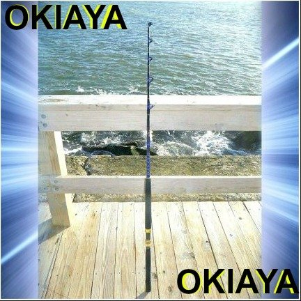(OKIAYA COMPOSIT 30-50LB Blueline Series Saltwater Big Game Roller Rod)