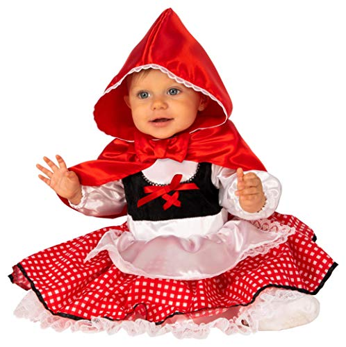 Rubie's Baby Girls' Little Red Riding Hood Costume, As Shown, Infant