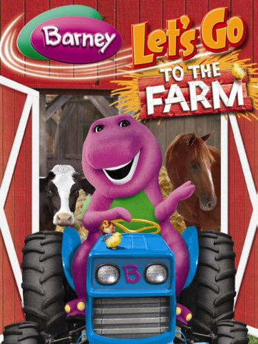 Barney  Lets Go To The Farm