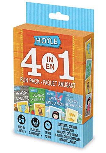 Hoyle 4 in 1 Fun Kids Game Pack