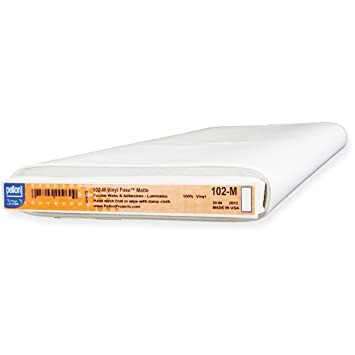 pellon 20 x 20 YD Vinyl Sicherung Flexible Stabilisator transparent matt