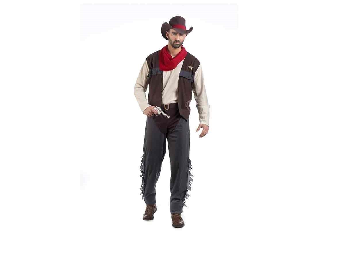 Limit Erwachsene Kostüm Kostüm Kostüm Cowboy James Gr. L, Mehrfarbig (210mal) 3c2514