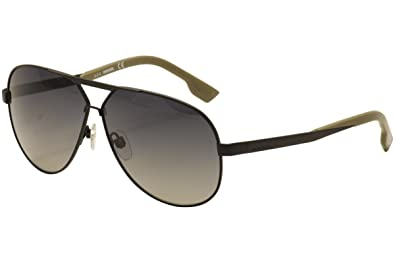 d1fe55b91f Image Unavailable. Image not available for. Color  Diesel Men s DL0078 Metal  Aviator Black Sunglasses 61