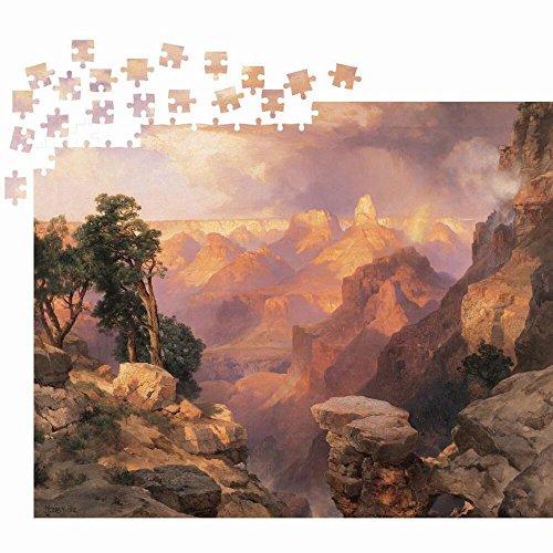 (Thomas Moran Grand Canyon with Rainbow Jigsaw Puzzle 1000pc)