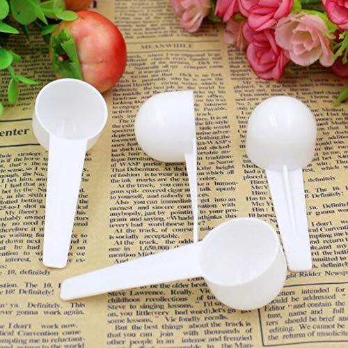(DNHCLL 10PCS 10ML Powder Scoop Traditional Chinese Medicine DIY Facial Mask Measurement Scoop Milk Powder Spoon Measurement Scoop 10 g Measuring)