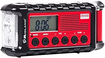 Midland ER300 Handkurbel Surival Outdoor-Radio , UKW , inkl. Pow