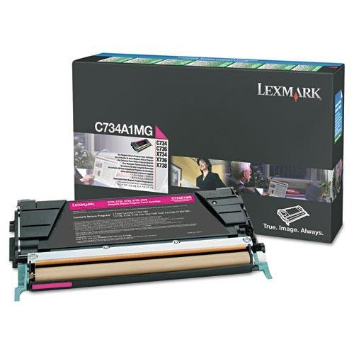 Lexmark C746A1MG Toner, 7000 Page-Yield, (Lexmark Replacement Cartridges)