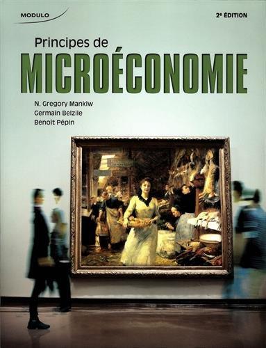 Principes de microéconomie