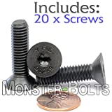 (20) M8-1.25 x 30mm (FT) - Flat Head Socket Caps