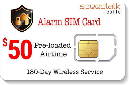 Prepaid Alarm Card Security System product image