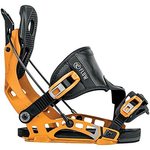 Flow NX2 Hybrid Snowboard Bindings 2018 - Men's Cadmium Medium -  FF180127