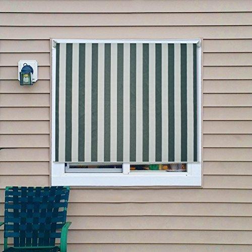 ALEKO Outdoor Roll Up Shade Decor Windscreen Sunshade Bli...