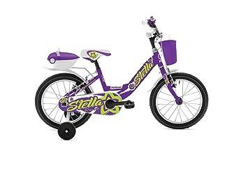 Rollmar - Bicicleta Infantil de 16 Pulgadas, diseño de Estrella ...